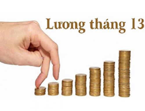 Tiền thưởng, lương tháng 13 có phải là khoản chi bắt buộc?