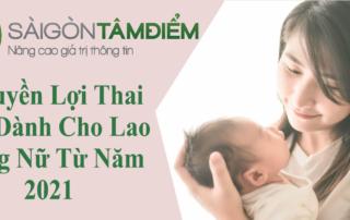7 Quyền Lợi Thai Sản cho lao động nữ