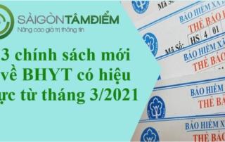 3 chính sách mới về BHYT